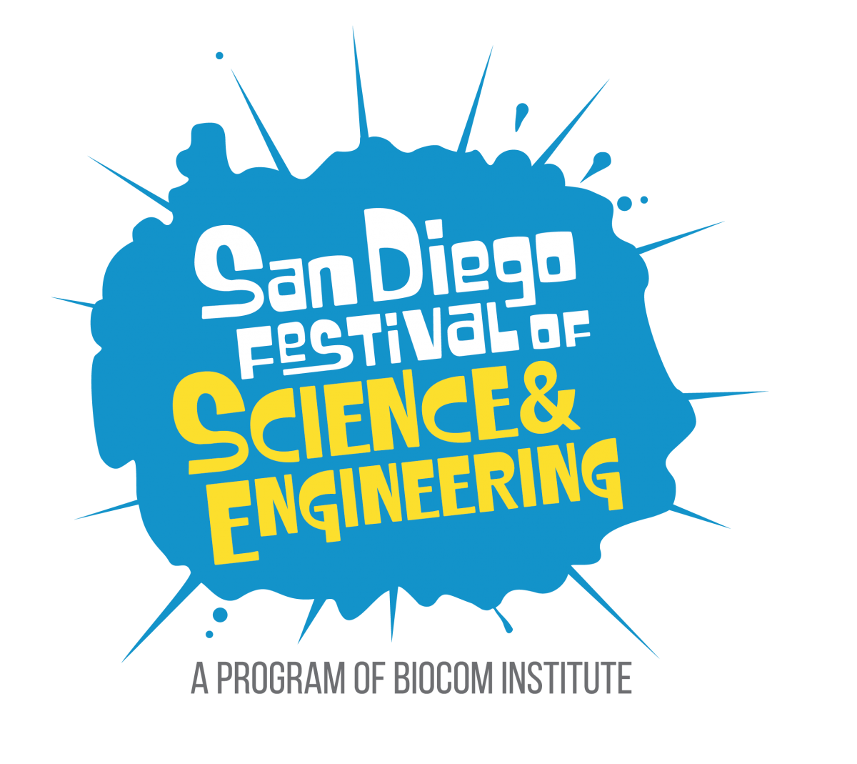 San Diego Festival of Science & Engineering 2019 Logo