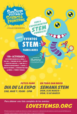 2020 Science Festival Flyer